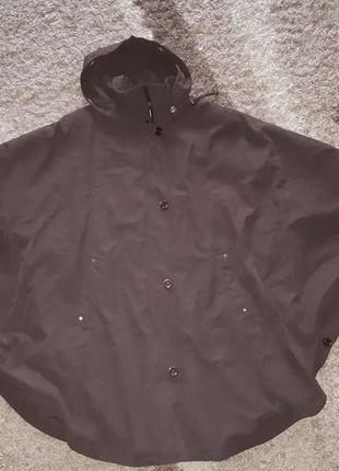 Шикарная куртка-пончо или парка р.54-60