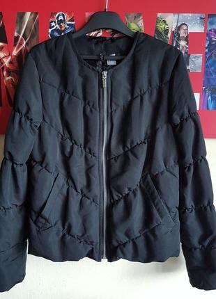 Короткая дутая укороченая куртка курточка оверсайз h&m