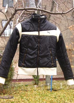 Теплая спортивная куртка puma