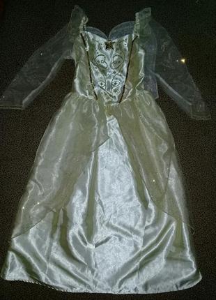 Карнавальное платье ангела, звездочка на 7-8 лет.