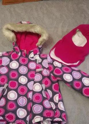 Куртка зимняя reima tec и шлем lenne