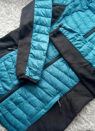 Пуховая спортивная куртка пуховик зима 32 heat s m