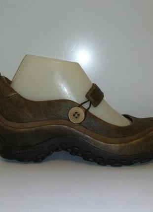Туфли кожаные merrell, р. 37,5-38.
