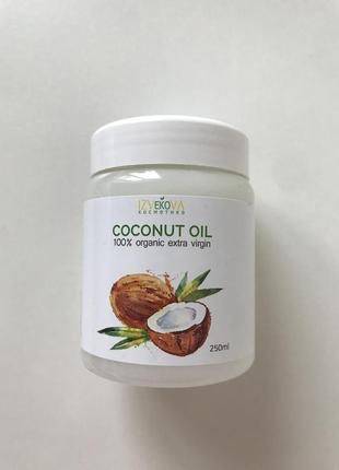 Нерафінована кокосова олія