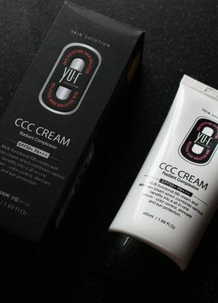 Ccc cream для лица yu-r