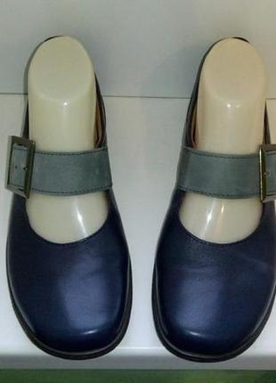 Туфли кожаные hotter, р. 38,5-39.