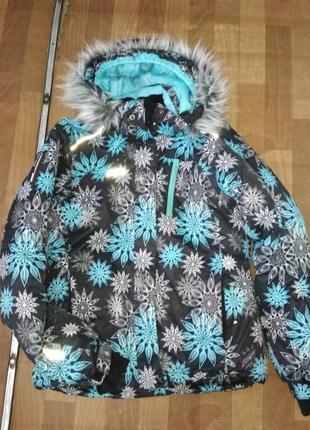 Термо лижная зимняя куртка