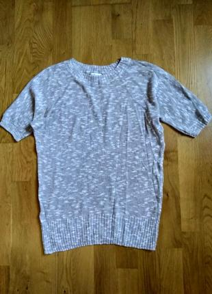 Вязаная футболка