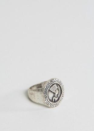 Шлифованное серебристое кольцо в египетском стиле asos