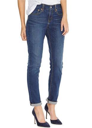 Синие джинсы levi's