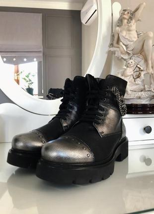 Крутые ботинки итальянской фирмы marzetti, оригинал