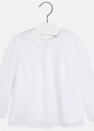 Новая шифоновая блузка для девочки, mayoral, 4120