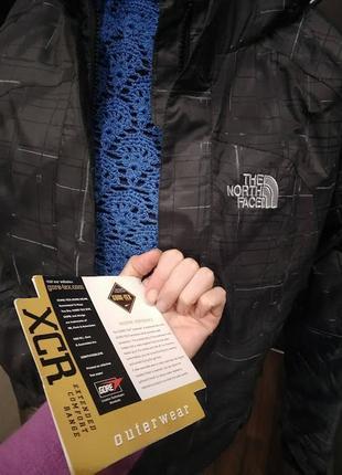 The north face  gore tex технологичная куртка для зимних видов спорта на  утеплителеs-xs-m