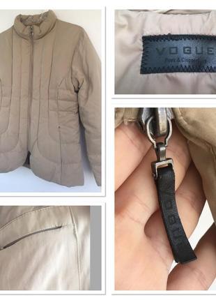 Объёмная куртка-пуховик vogue
