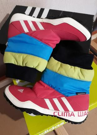 Сапоги/ ботинки/ дутики adidas libria poca 23,5