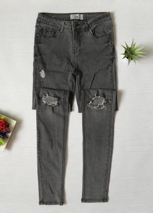 Джинсы скини скинни высокая посадка стрейч джинси  skinny new look