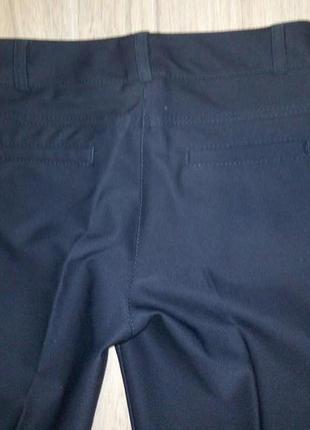 Классические чёрные брюки р.44