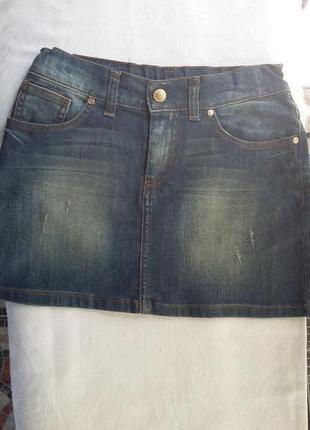 Джинсовая юбка monnalisa (11) 146