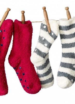 Комплект из 2-х пар махровых носков tchibo! размер 35-38!
