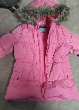 Очень тёплая курточка