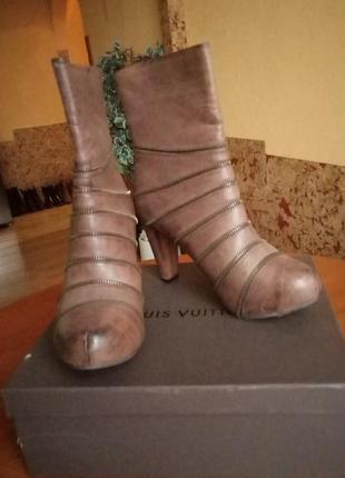 Новые ботинки италия, натуральная кожа