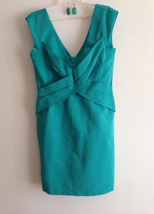 Яркое платье от warehouse