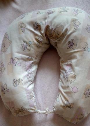 Подушка для кормления (большая), подходит для двойни