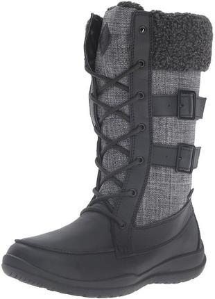 Kamik - шикарные зимние кожаные сапоги - 38 - 39