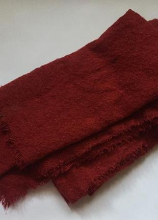 Тёплый шарф stradivarius