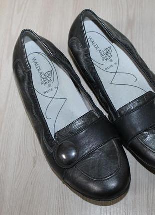 Кожаные туфли с амортизацией waldläufer, 38 размер