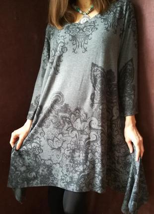 Теплое платье в стиле бохо joe browns