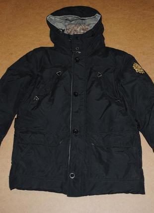 Scotch soda пуховая парка куртка теплая