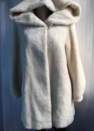 Шубка пальто с ламы peter hahn 40-42