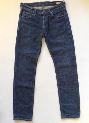 Мужские джинси ведомого бренда tommy hilfiger slim fit оригинал розмір 31/34
