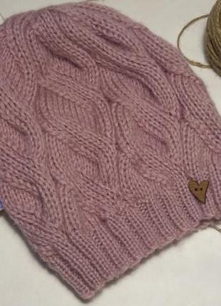 Вязаная шапочка hand made