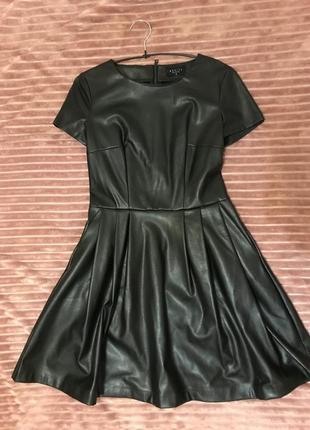 Платье эко кожа2
