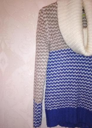 Крутой свитер, мягкий и тёплый
