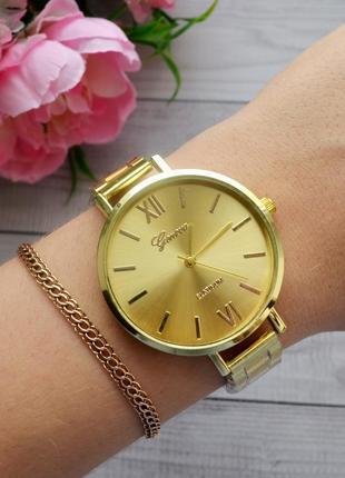 Часики женские классические золото stainless steel