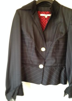 Скидка! стильный шерстяной костюм, gianfranco ferre