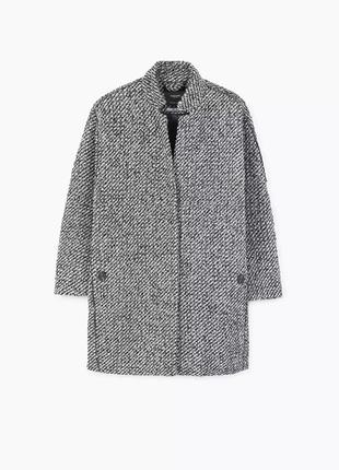 Пальто mango, пальто бойфренда, пальто oversize