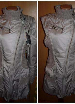 Женская куртка трансформер, жилет, жилетка р.м /l