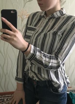 Блузка блуза рубашка h&m