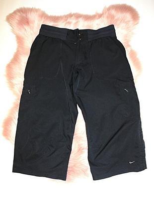 Бриджи спортивные черные nike оригинал (к036)