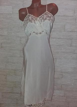 Шикарная шёлковая ночнушка, ночная рубашка