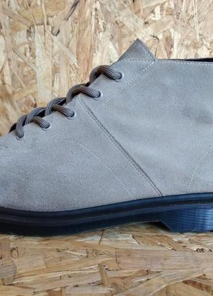 Кожаные демисезонные ботинки dr. martens church vintage smooth 45 размер