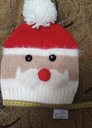 Новая шапка дед мороз