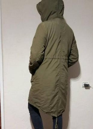 Куртка парка пуховик f&f 12/40 демі