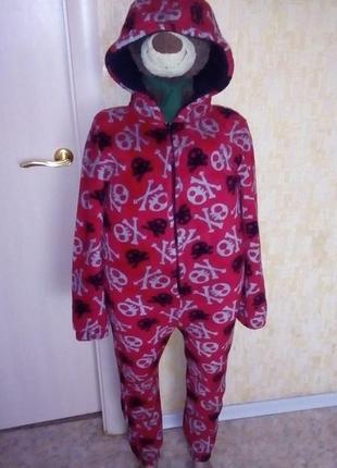 Тёплющий плюшевый человечек/кигуруми/слип/человечек/халат/костюм/пижама/комбинезон