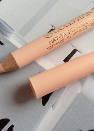Карандаш для бровей collistar matita sopracciglia eyebrow pencil универсальный