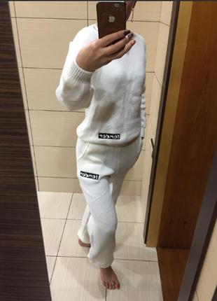Спортивный костюм тм doratti (10369) белый3